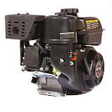 Двигун бензиновий WEIMA(Вейма) WM170F/P (DELUXE) для WM1050 (7,0 л. с. з редуктором), фото 4