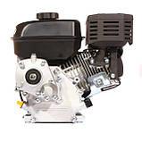 Двигун бензиновий WEIMA(Вейма) WM170F/P (DELUXE) для WM1050 (7,0 л. с. з редуктором), фото 5