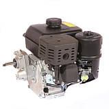 Двигун бензиновий WEIMA(Вейма) WM170F/P (DELUXE) для WM1050 (7,0 л. с. з редуктором), фото 6