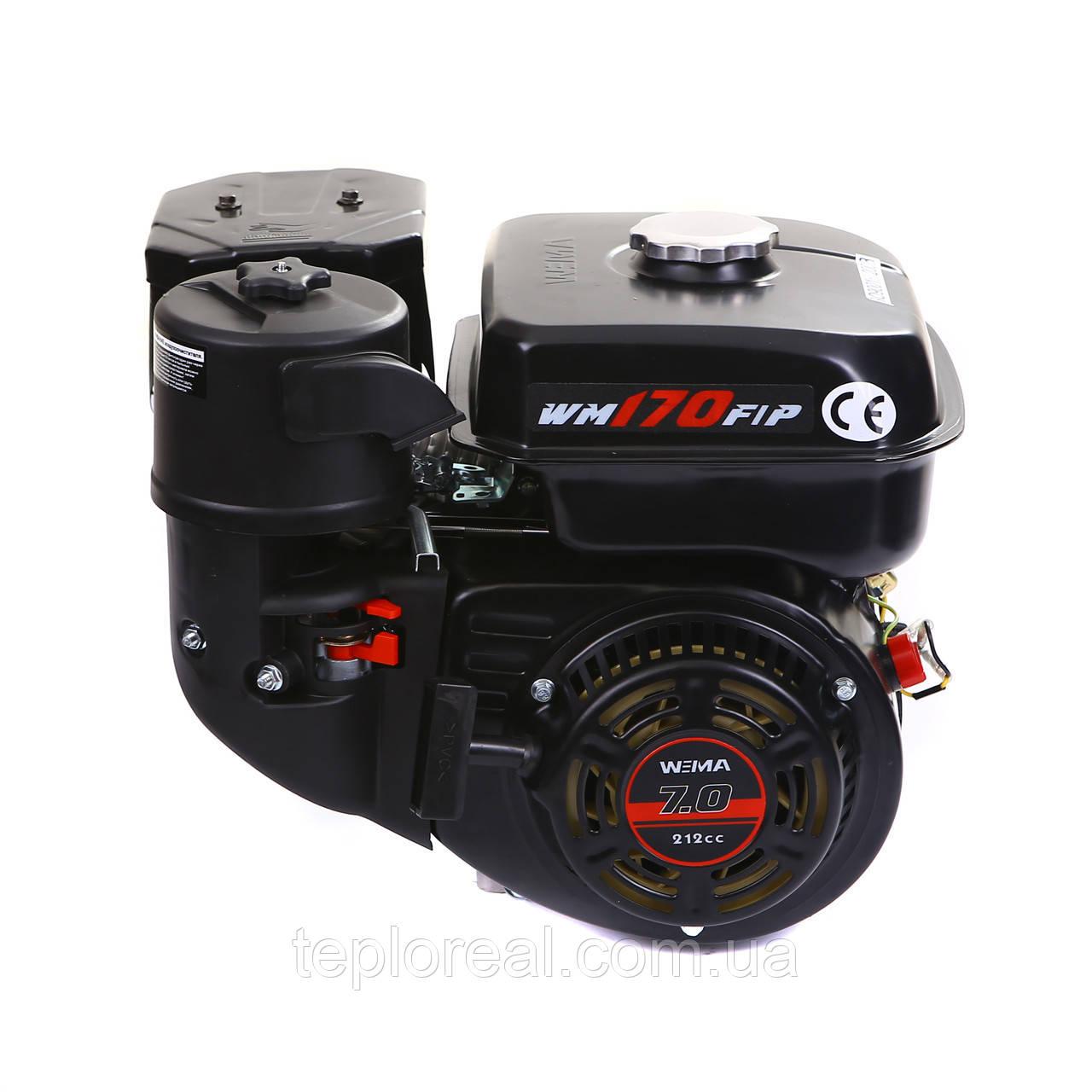 Двигатель бензиновый WEIMA(Вейма) WM170F-S DELUXE (7,0 л.с.под шпонку)