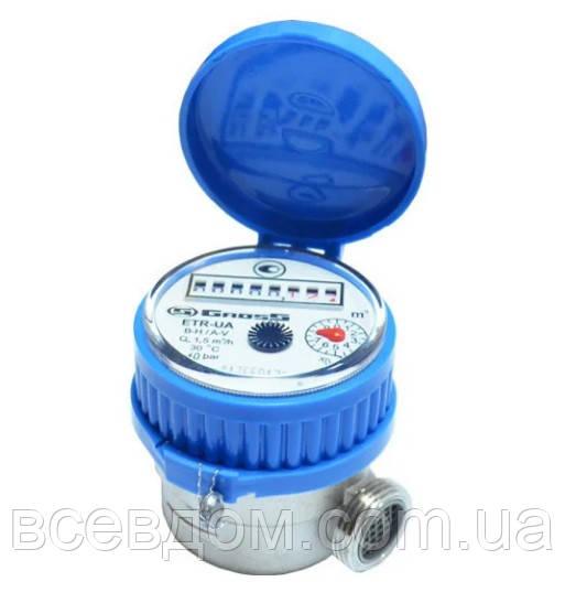 Счетчик воды Gross ETR-UA 2,5 м3/ч 3/4 холодная вода