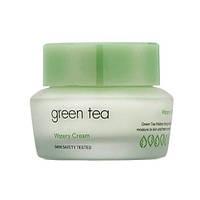 Крем для лица С ЗЕЛЕНЫМ ЧАЕМ IT'S SKIN GREEN TEA WATERY CREAM 50ML