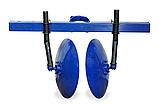 Окучник дисковий на подвійний зчепленні з посиленими стійками (ф дисків 410мм), фото 2