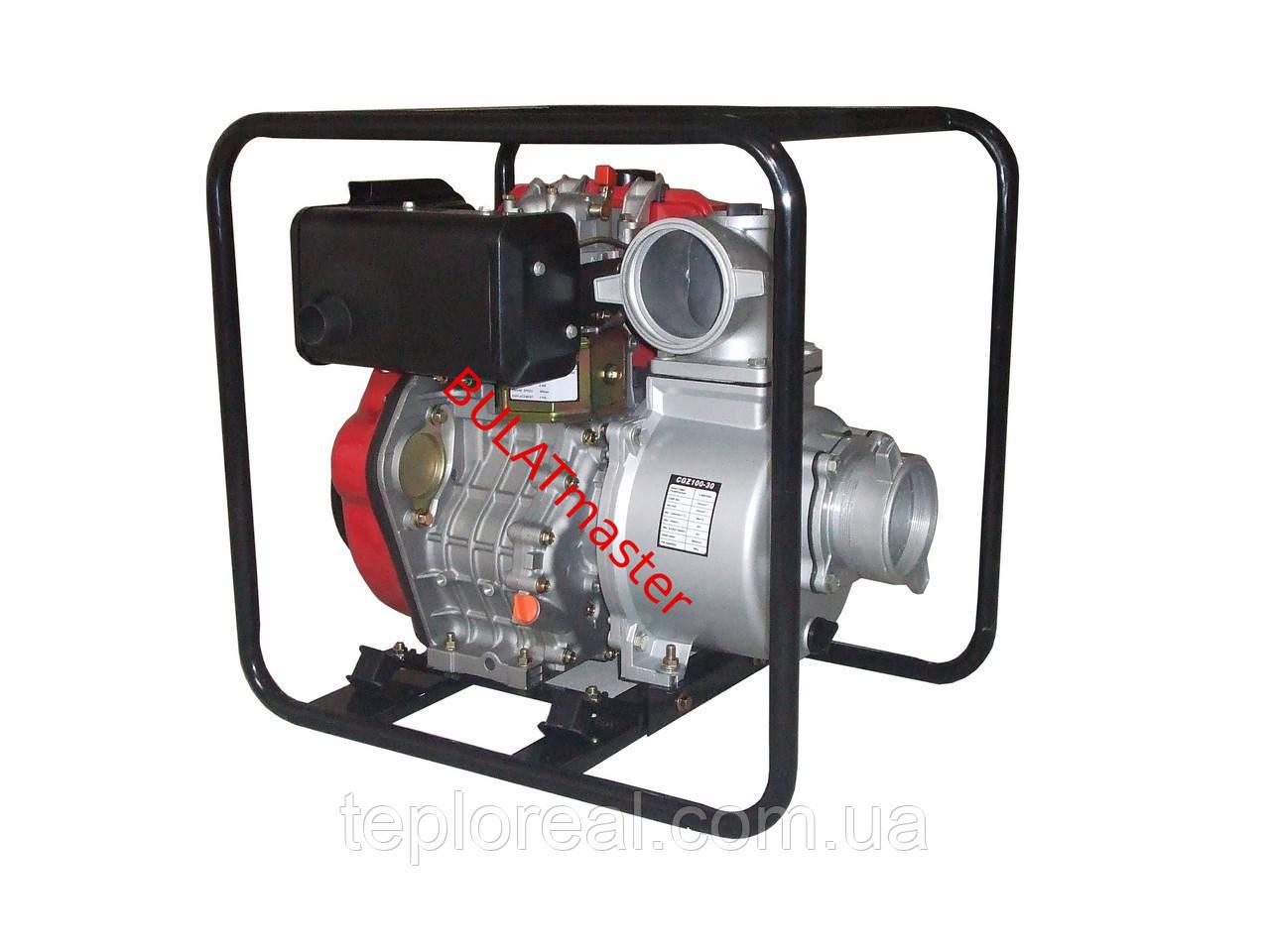 Дизельная помпа WEIMA (Вейма) WMС GZ100-30Е (электростартер)