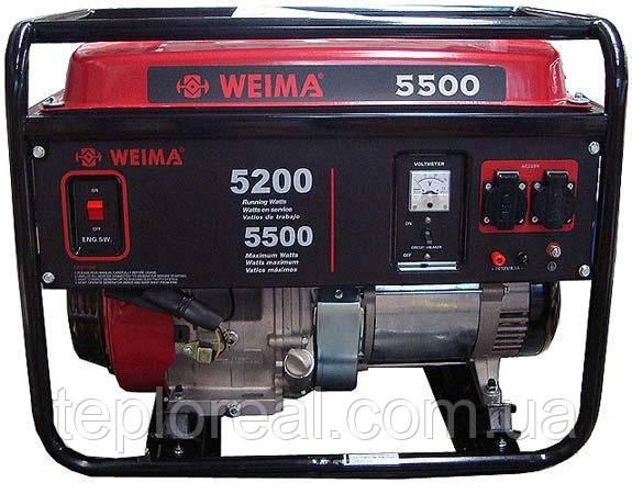 Бензиновий генератор WEIMA(Вейма) WM5500E