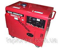 Дизельный генератор WEIMA (Вейма) WM5000CLE-3 (5,5 кВт) SILENT(шумоизоляционный корпус)