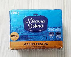 Вершкове масло Mleczna Dolina Maslo Ekstra 200гр (Польща)