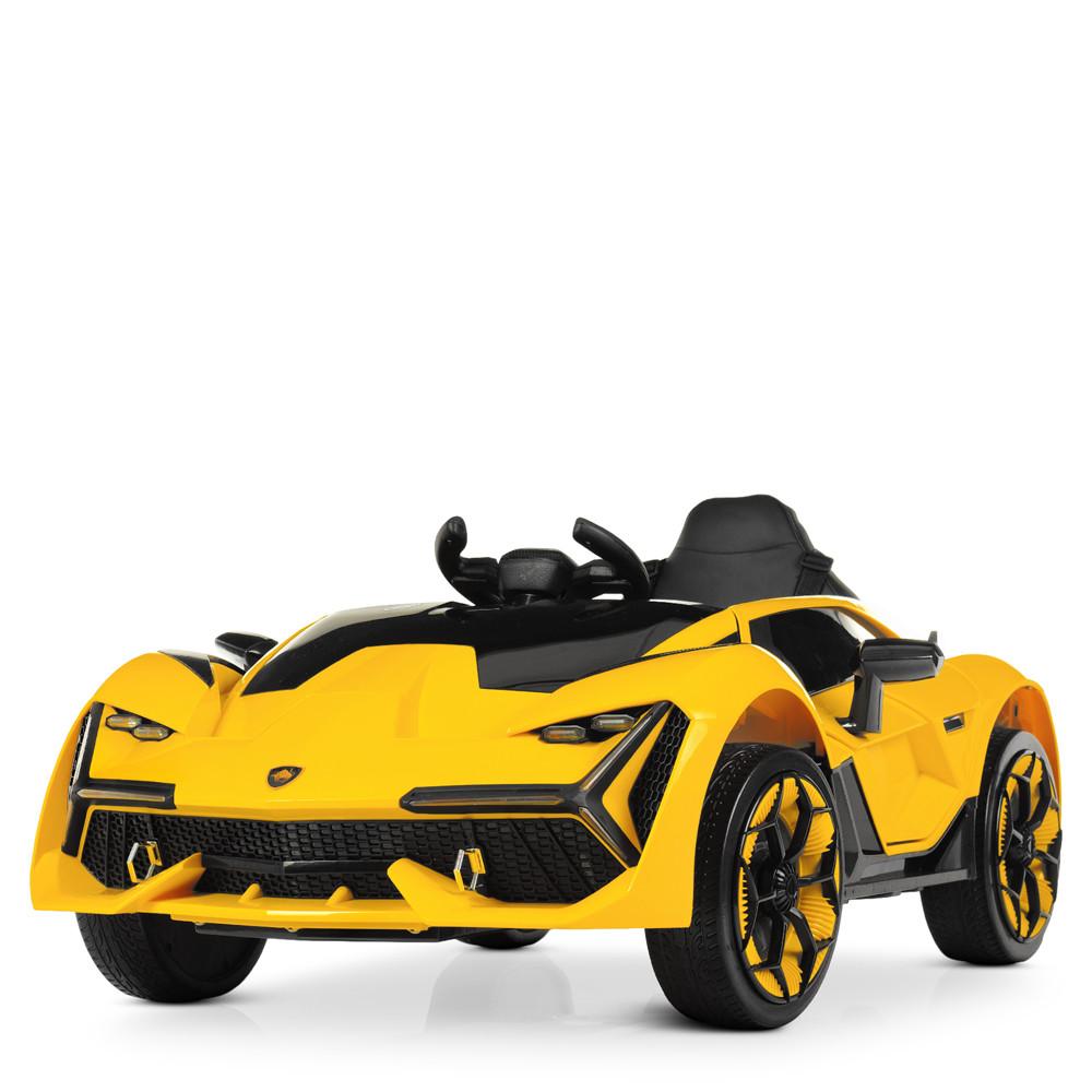 Электромобиль Машина M 4115EBLR-6 желтый BAMBI