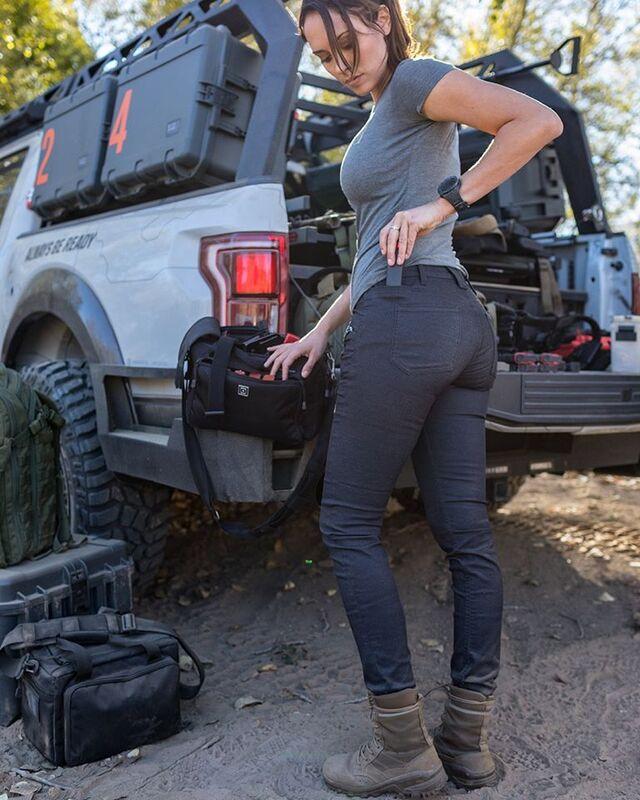 Жіночі завужені тактичні штани 5.11 Tactical WOMEN'S DEFENDER-FLEX SLIM PANTS 64415 2 Regular, Чорний