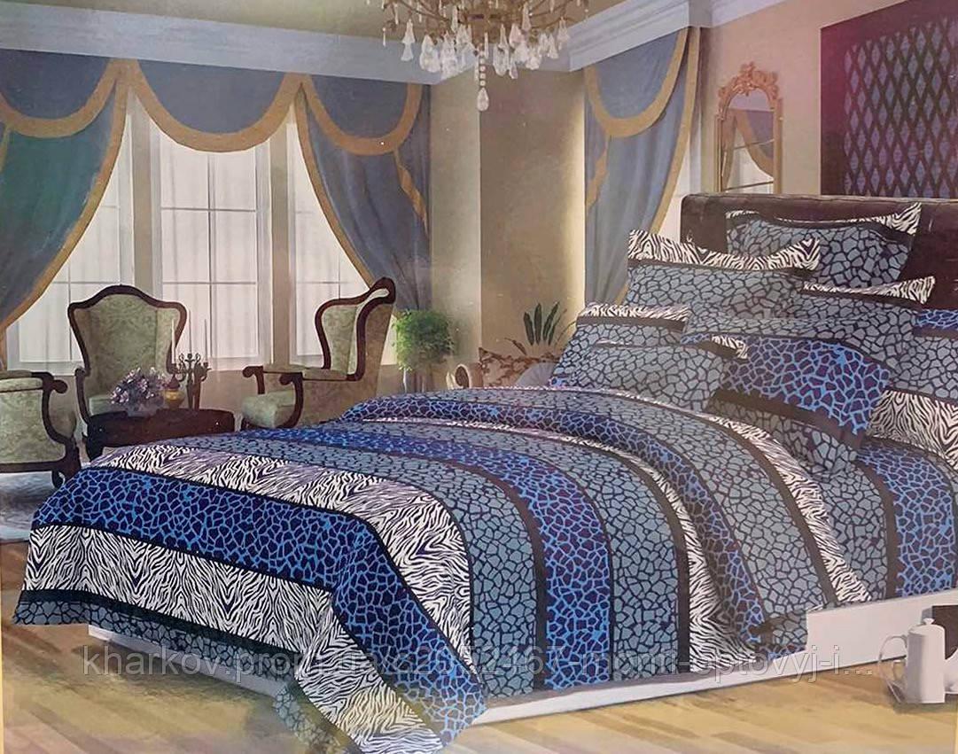 Полуторный комплект постельного белья в оригинальном дизайне