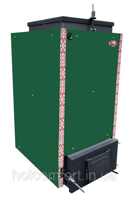 Шахтный котел Холмова Zubr Termo 10 кВт (твердотопливный длительного горения)