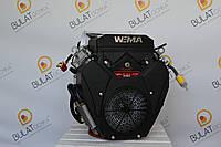 Двигатель WEIMA  WM2V78F-2цил. (вал конус и шпонка), бензин  20,0 л.с., фото 1