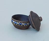 Солонка с крышкой миниатюрная