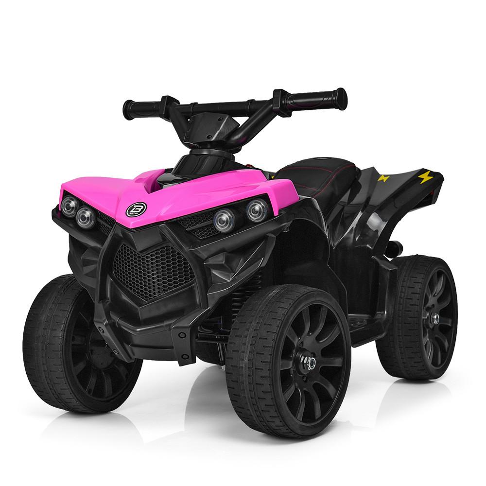 Электромобиль Квадроцикл M 3638EL-8 розовый BAMBI