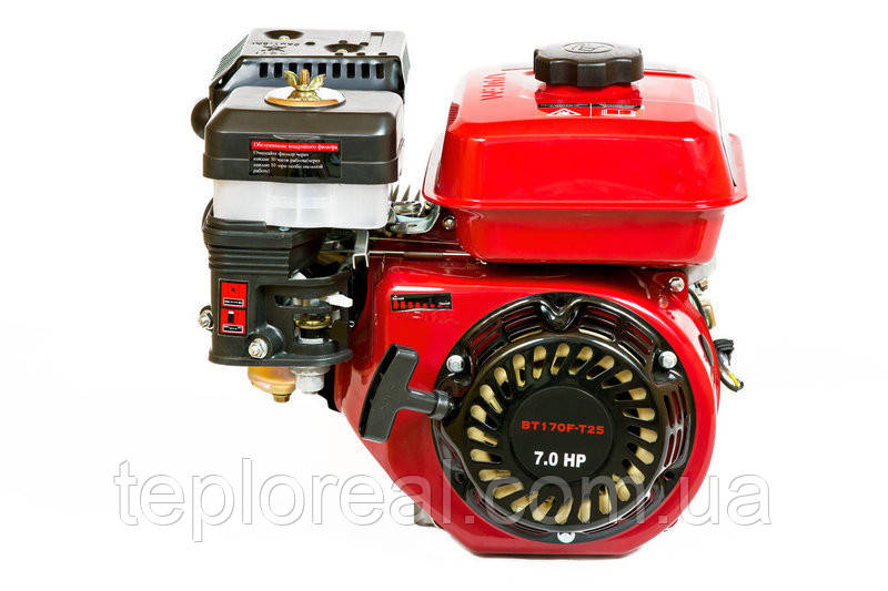 Двигун бензиновий WEIMA (ВЕЙМА) BT170F-Т(7,5 л. с. під шліц 25мм) для мотоблока