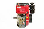 Двигун дизельний WEIMA WM178FES (R) (вал ШПОНКА, 1800об/хв, для WM610), дизель 6.0 л. с., фото 4