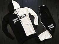 Мужской спортивный костюм Off White белый с черным, Материал: Трикотаж