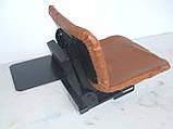 Сидіння для мототрактора (м'яке на аммортизаторе), фото 3