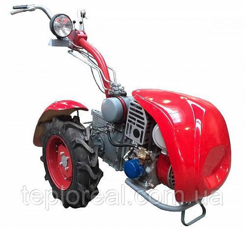 Мотоблок Мотор Січ МБ-8Э (бензин 8 л. с., електростартер)