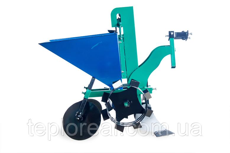 Картофелесажалка цепная для мотоблока КСЦ-1 без транспортировочных колес (пр-во AGROMARKA)