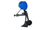 Картофелесажалка КСОП - 1 (AGROMARKA) для мотоблока оборотная с опорным колесом, фото 3