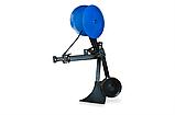 Картоплесаджалка КСОП - 1 (AGROMARKA) для мотоблока оборотна з опорним колесом, фото 3