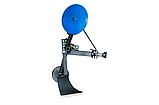 Картоплесаджалка КСОП - 1 (AGROMARKA) для мотоблока оборотна з опорним колесом, фото 4