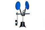 Картоплесаджалка КСОП - 1 (AGROMARKA) для мотоблока оборотна з опорним колесом, фото 5