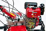 Мотоблок дизельний WEIMA (Вейма) WM1100BЕ-6 DIFF (6 швидкостей з диференціалом і електростартером), фото 2