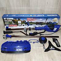 Коса электрическая Витязь КГ-3200М, разборная, велосипедная ручка