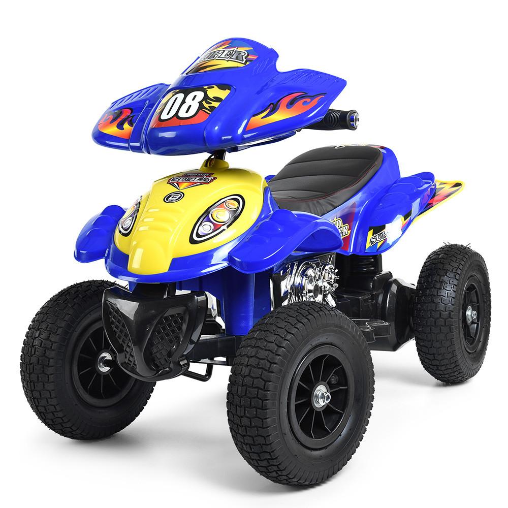 Детский квадроцикл Bambi синий М 2403