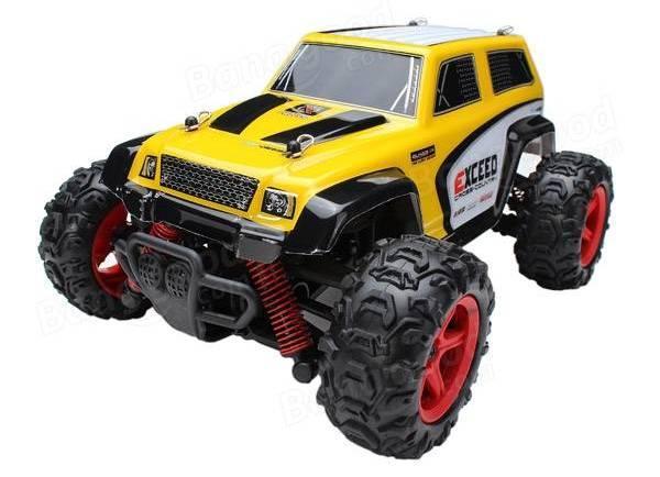 Машинка радиоуправляемая 1:24 Subotech CoCo Джип 4WD 35 км/час (желтый)