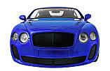 Машинка радиоуправляемая 1:14 Meizhi Bentley Coupe (синий), фото 5