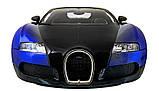 Машинка радиоуправляемая 1:14 Meizhi Bugatti Veyron (синий), фото 5