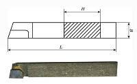 Резец проходной упорный прямой 25х16х140 Т5К10 (2101-0013)
