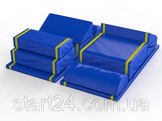 Мат гимнастический поливалентный (комплект 13 шт)