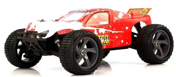 Радиоуправляемая модель Трагги 1:18 Himoto Centro E18XT Brushed (красный)
