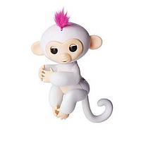 Интерактивная обезьянка Софи - Fingerlings Interactive Baby Monkey Sophie WowWee (Белая)