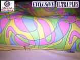 """Подушка для вагітних Exclusive ULTRA PLUS, в комплекті наволочка 2-стор.-Поплін """"Весна""""+жовтий.точки, фото 3"""