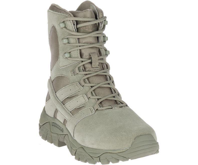 Тактичні жіночі черевики Merrell MOAB 2 8 Womens Waterproof Defense Boots - SAGE GREEN J17776 US 7.5R
