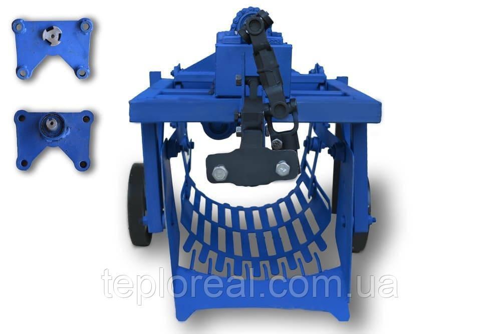 Картофелекопалка КМ - 3 (ВОМ) для мотоблока 1100-6