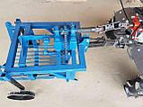 Картофелекопалка КМ - 3 (ВОМ) для мотоблока 1100-6, фото 5
