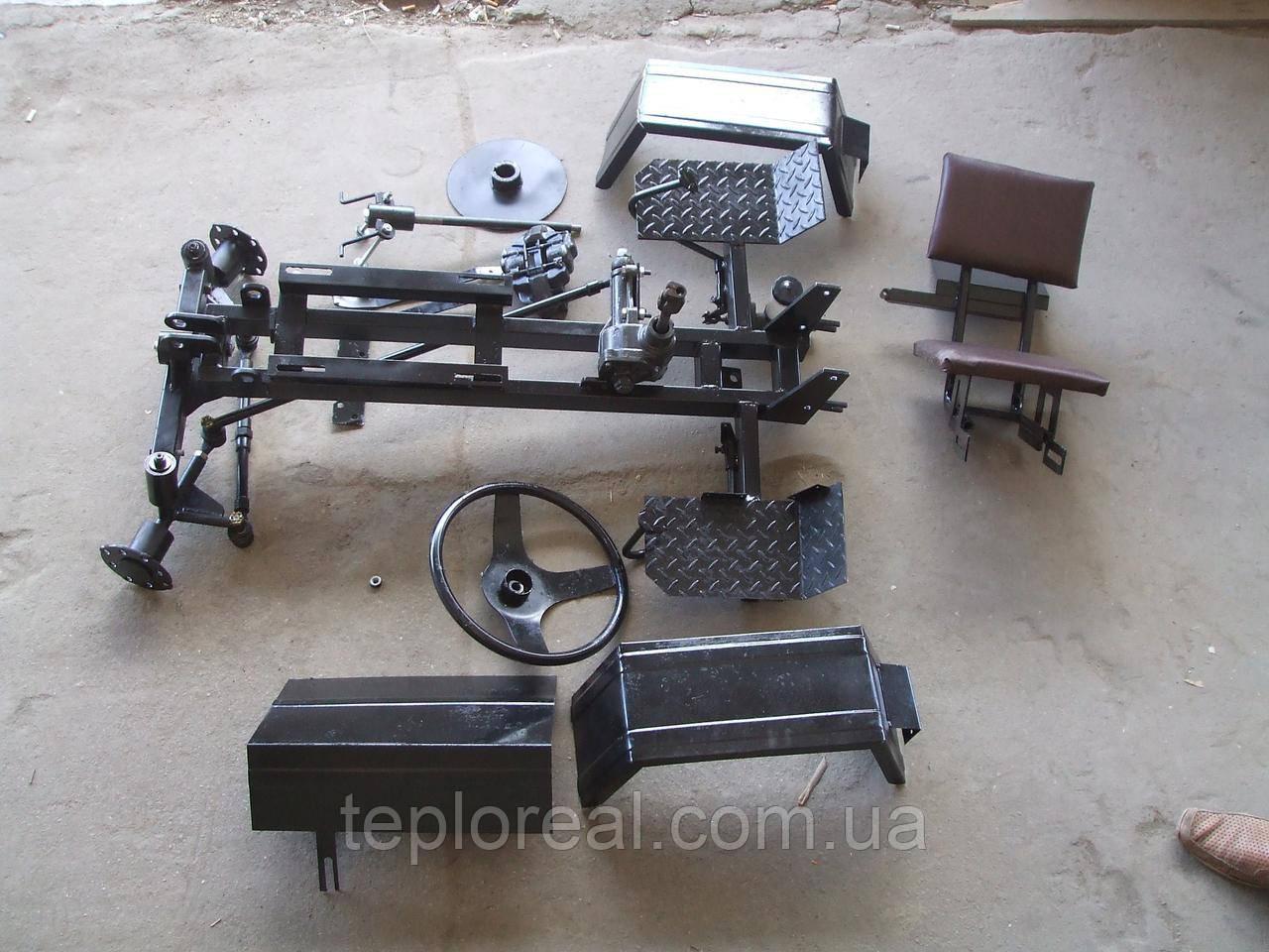 Комплект для переоборудования мотоблока в минитрактор с регулируемой балкой (КИТ ПРЕМИУМ-3)