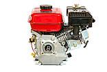 Двигатель бензиновый WEIMA BT170F-S Т/20(7,5 л.с.под шлиц 20мм), фото 3