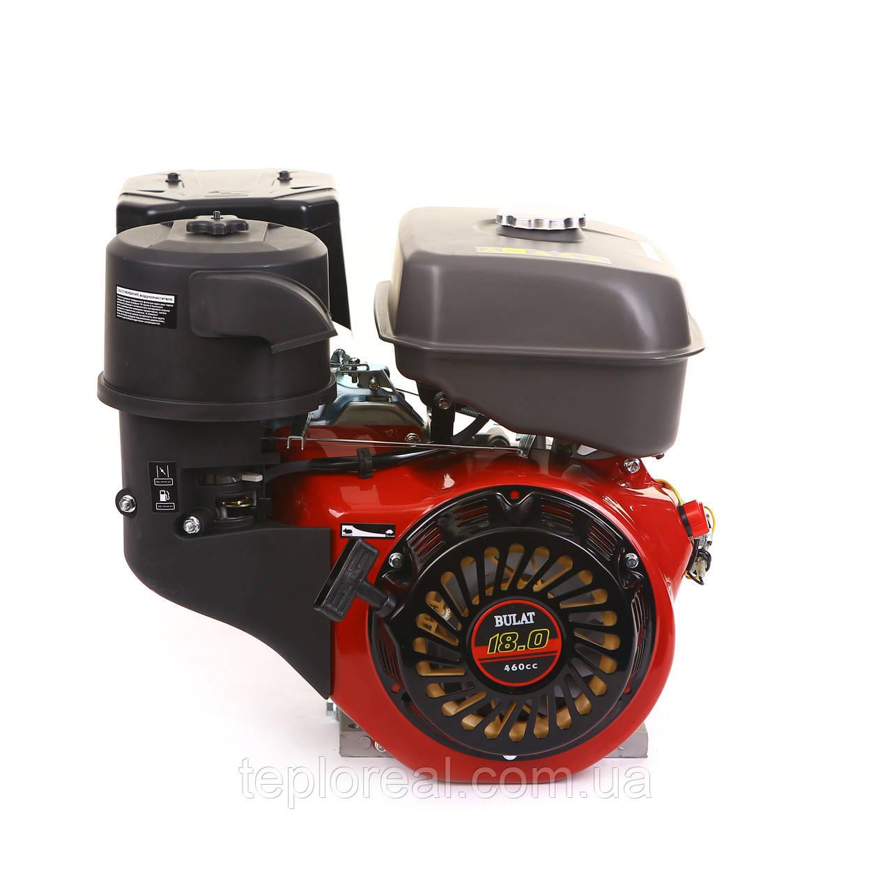 Двигатель бензиновый BULAT (WEIMA) BW192F-S (ШПОНКА, 18 Л.С., WEIMA 192)