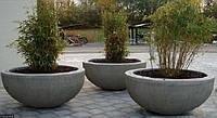 ВЕРОНА Вазон бетонный уличный, горшок для сада, дома и террасы VER2 - 400/800 вес - 70 кг., объем - 120 л.