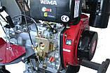 Мотоблок WEIMA (Вейма) WM1100А-6 КМ DIFF DELUXE (дизель 6л.с. с дифференциалом), фото 4