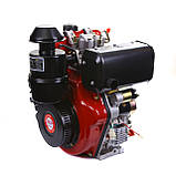 Двигатель WEIMA WM188FBE(вал ШПОНКА), дизель, 12.0л.с., фото 2