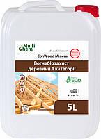 Антипирен.Огнебиозащита. Антисептик ConWood Mineral Eurо 5л/Антипірен.Вогнебіозахист. ConWood Mineral Eurо 5