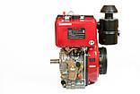 Двигатель дизельный WEIMA WM188FBS (R) (вал под шпонку), фото 3